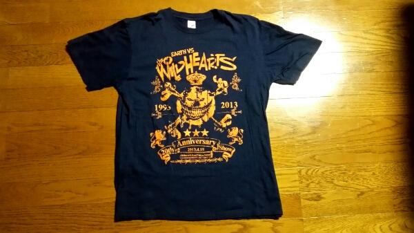 WILDHEARTS完売EARTHvsワイルドハーツ20周年来日公演Tシャツ