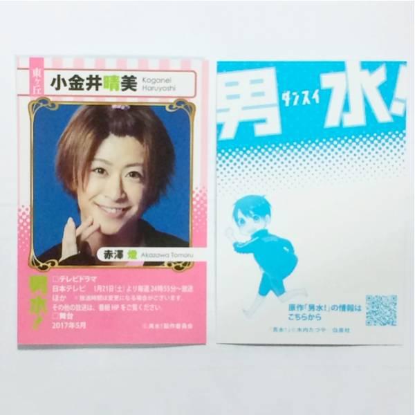 男水! ダンスイ 小金井晴美 赤澤燈 ブロマイドカード 非売品