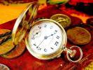銀のケース ハンプデンのアンティーク懐中時計 Hampden 機械式
