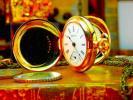 100年以上経過したハンプデンのアンティーク懐中時計 Hampden