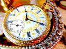 文字盤とケースの装飾 ELGIN(エルジン)のアンティーク懐中時計