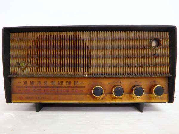 ナショナル MT管 トランスレス5球スーパーラジオ AM-335 昭和レトロ ジャンク National 管B1703