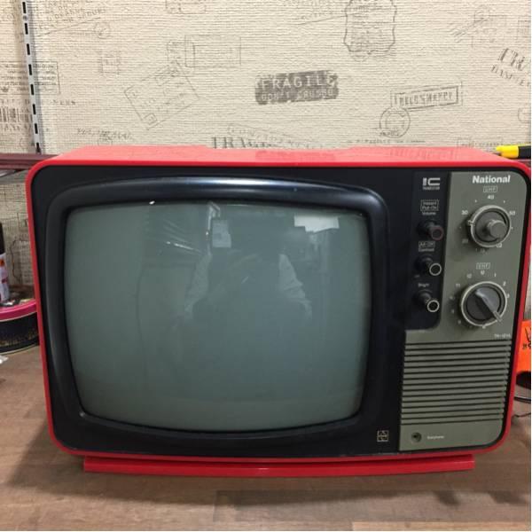 昭和レトロ/ナショナル/テレビ/75年製/美品_画像2