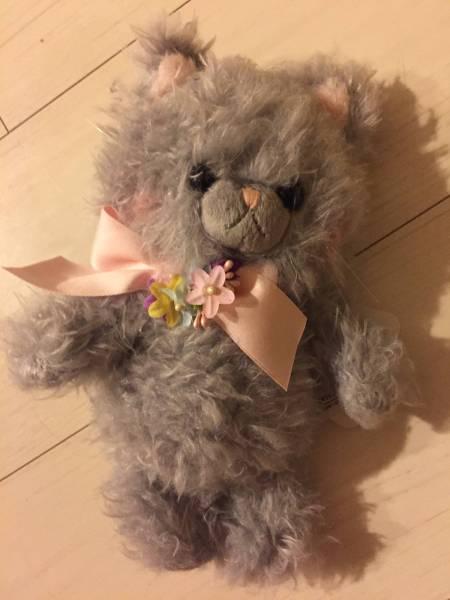 ほっぺもピンクで可愛い花リボン付可愛い!
