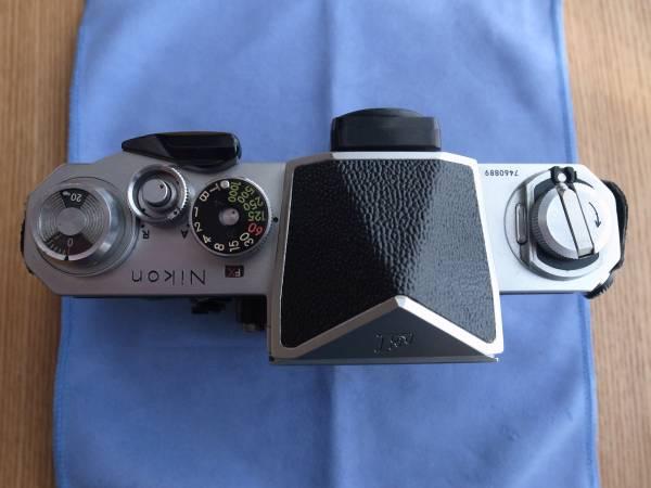 ◆ニコン Nikon F アイレベル 後期 シルバー ジャンク品 7460889_画像2