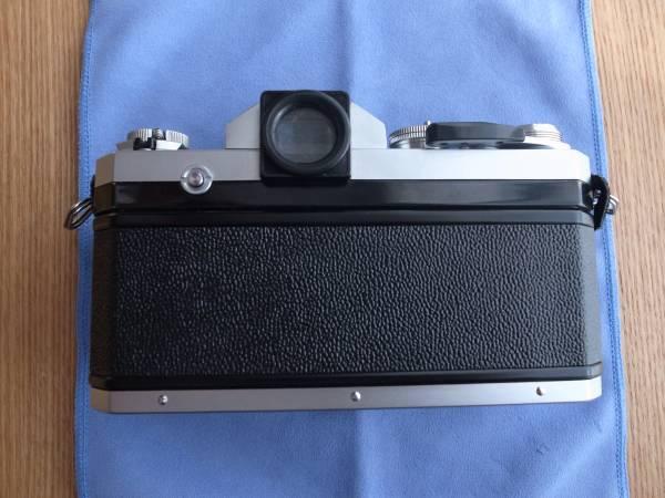 ◆ニコン Nikon F アイレベル 後期 シルバー ジャンク品 7460889_画像3