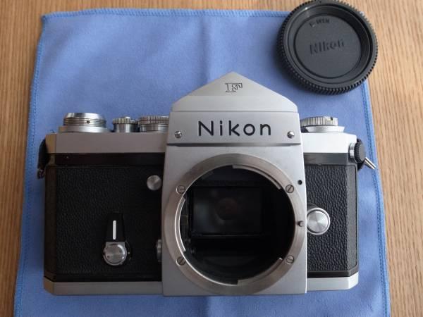 ◆ニコン Nikon F アイレベル 後期 シルバー ジャンク品 7460889