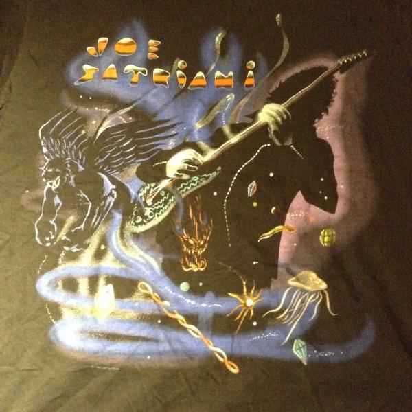 Joe Satriani ジョー・サトリアーニ 1990 ツアーTシャツ 古着