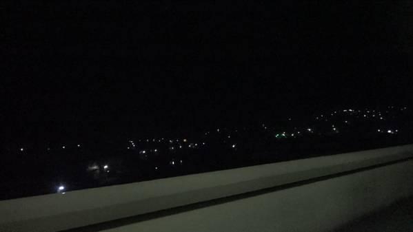 快速「ムーンライト信州81号」 車窓 新宿→白馬 (字幕無/有BD-R DL1枚)_岡谷市街を眼下に塩嶺トンネルへ
