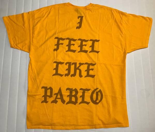 KANYE WEST カニエ I FEEL LIKE PABLO 2XL Tシャツ TLOP パブロ