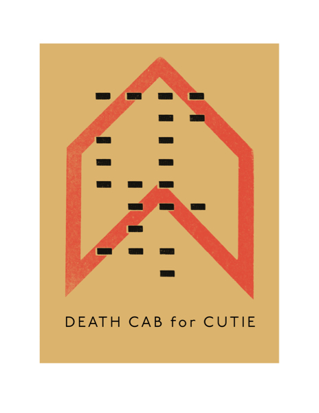 Death Cab for Cutie ポスター