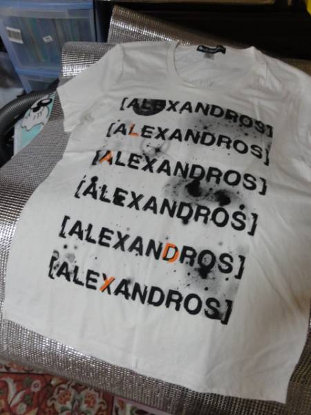 Champagne [Alexandros] Tシャツ カウントダウン限定 即決