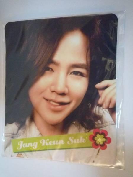 Jang Keun Suk Korea idle mouse pad clear case or the like 10