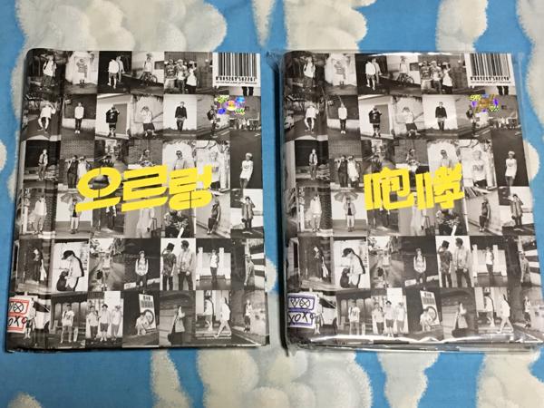 EXO エクソ 1集 - XOXO CD リパッケージ 2冊セット