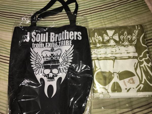 三代目J Soul Brothers トートバッグ ブランケット