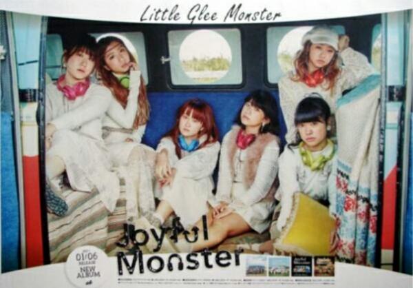 新品未使用 joyful monster 非売品ポスター little glee monster