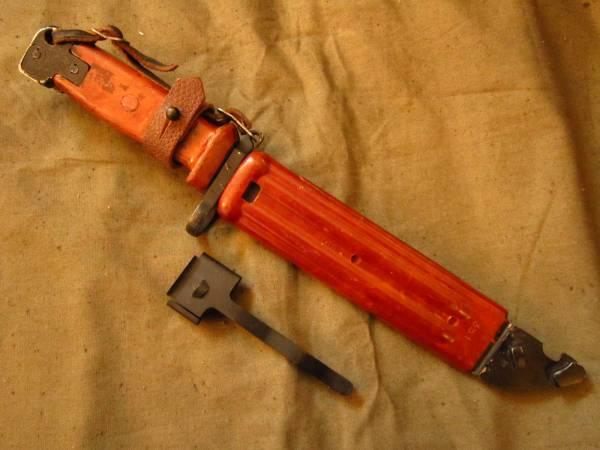 ソ連軍 6kh4 (6Х4) 銃剣 ラバーブレード バヨネット AKM AK74 ④ ソビエト ロシア_画像2