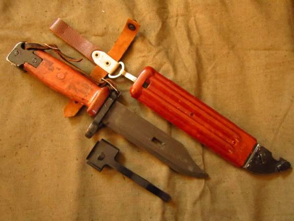 ソ連軍 6kh4 (6Х4) 銃剣 ラバーブレード バヨネット AKM AK74 ④ ソビエト ロシア