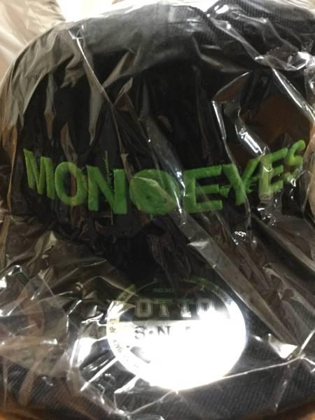新品 MONOEYES  キャップ 緑×黒 細美武士 ライブグッズの画像