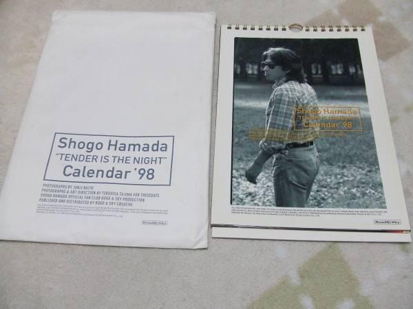 ♪♪【中古】浜田省吾 卓上カレンダー(1998)♪♪