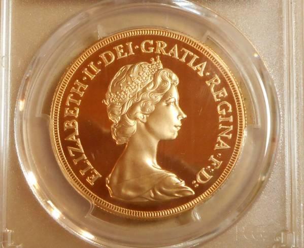 ◆◆イギリス 5P金貨 エリザベス 1984年 PCGS PR69 DCAM