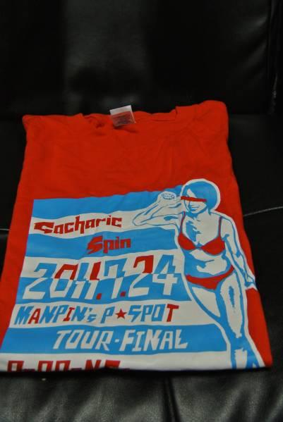 Gacharic Spin ガチャリックスピン Tシャツ 2011東京 XL 未開封