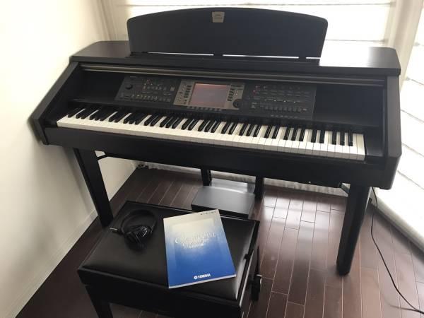【早期取引に限り格安】超美品 ヤマハ 電子ピアノ ブラウン_画像3