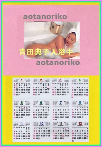 2017手作カレンダー 青田典子 入浴 2L印画紙プリント 額付・ グッズの画像