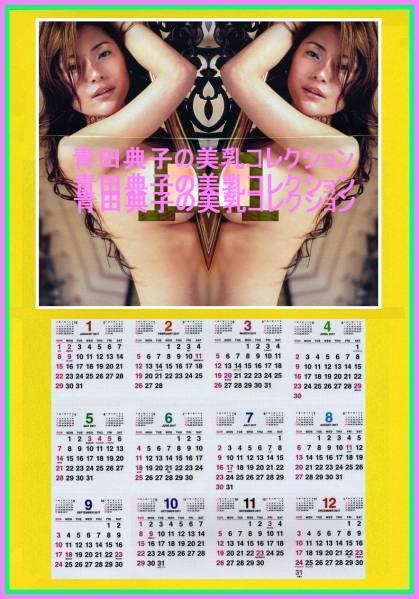 2017手作カレンダ 青田典子 美乳colle 2L印画紙プリント 額付・ グッズの画像