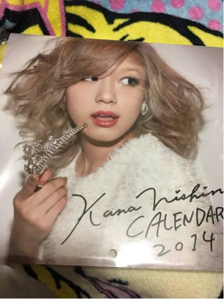 会場 即完売品 西野カナ Kanayan X'mas Special ~wish&real~ 2014カレンダー 未使用品