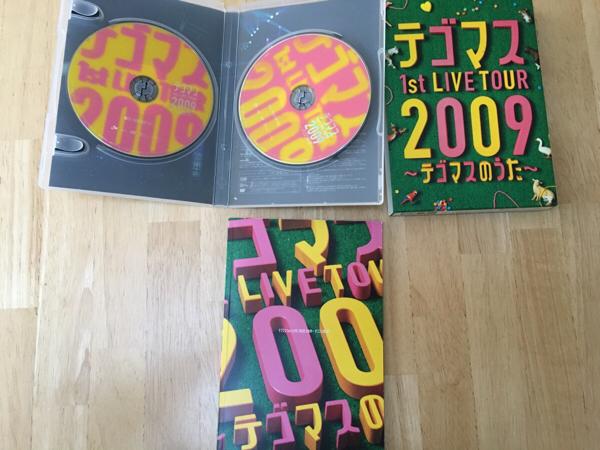 テゴマス テゴマス1stライブDVD 初回盤