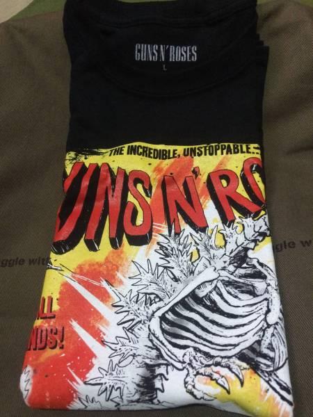 新品 Lサイズ ガンズアンドローゼズ Guns N′Roses Tシャツ 埼玉会場限定販売 ライブグッズの画像