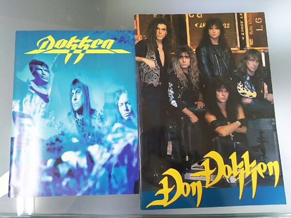 【2枚セット】ドッケン 1991年日本公演パンフレット DOKKEN