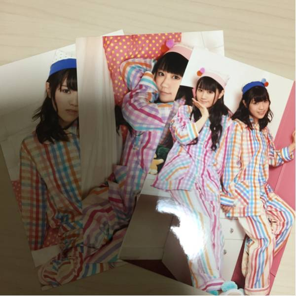 ゆいかおり 1st LIVE TOUR WAKE UP!! オリジナル生写真セットB