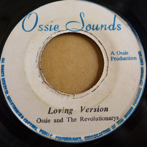 U BROWN / LOVE IS ALL I HAVE [ OSSIE SOUNDS ] 7 killer Roots DJ_画像3
