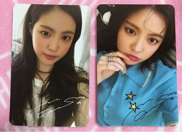 Apink Pink Revolution 韓国盤 トレカ ナウン 2枚