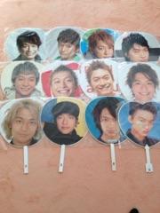 【SMAP】ジャンボうちわ 香取慎吾 まとめて 12枚 コングッズ コンサートグッズの画像