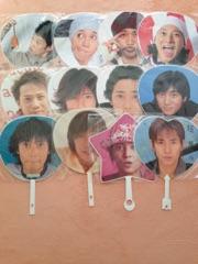 【SMAP】ジャンボうちわ 中居正広 まとめて 12枚 コングッズ コンサートグッズの画像