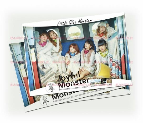Little Glee Monster 告知ポスター Joyful Monster リトグリ♪