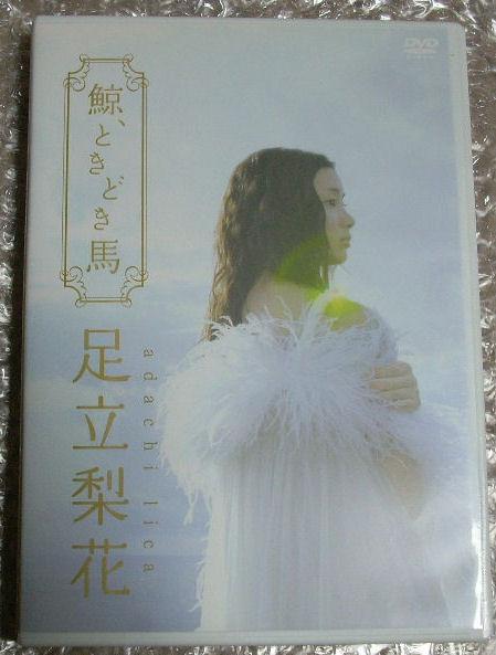足立梨花 DVD 鯨、ときどき馬 送料負担 グッズの画像