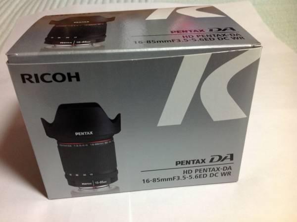 HD PENTAX DA 16-85mm F3.5-5.6ED DC WR(送料無料即決あり)