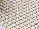 美濃焼モザイクタイルシート 10mm角 ホワイト 白 ナチュラルキッチン 内装に♪ (10SQ20B)