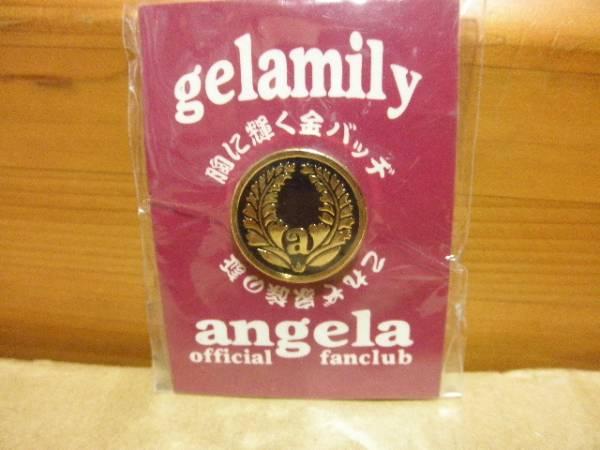 angela gelamily ピンバッジ ファンクラブ