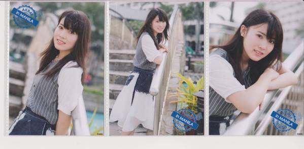 AKB48 チーム8 in マニラ 会場生写真 3種 岡部麟