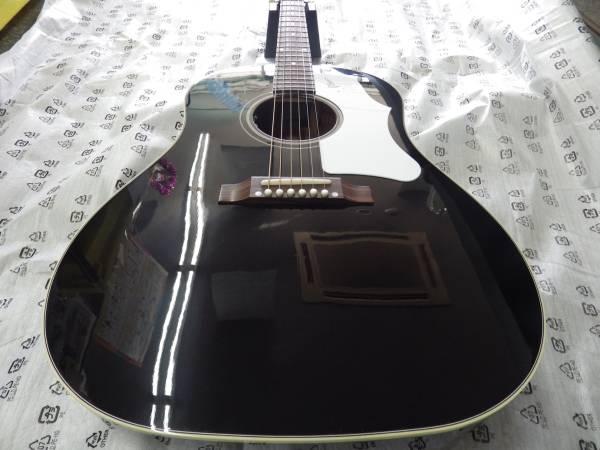 Gibson エレアコギターMontana 1960s J-45 Ebony Bone Saddle