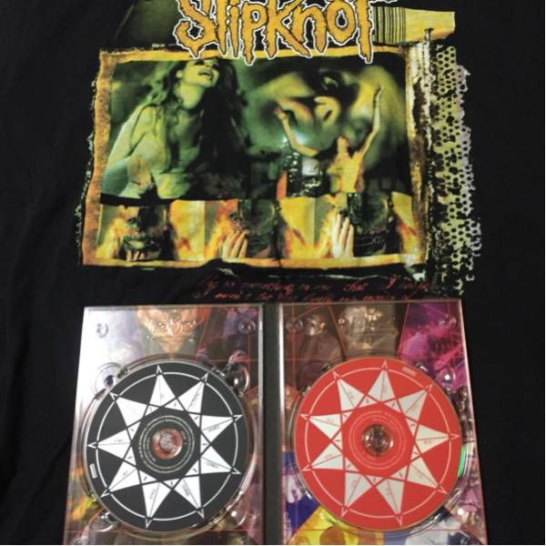 slipknot DISASTERPIECES DVD+2005ツアーTシャツ スリップノット