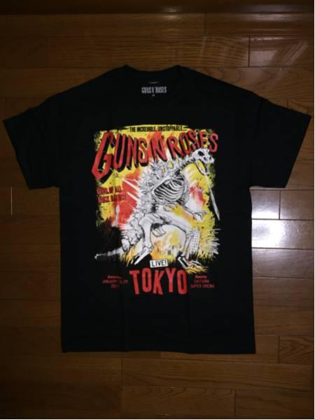 Guns N' Roses ガンズアンドローゼズ さいたま限定 ZILLA Tシャツ Mサイズ 新品 未着用 ライブグッズの画像
