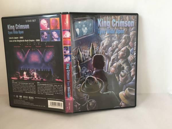 DVD キングクリムゾン King Crimson Eyes Wide Open 2枚組 ライブグッズの画像