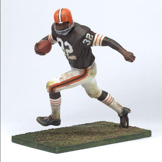 【SALE】NFL マクファーレン レジェンド / ジム・ブラウン / クリーブランド・ブラウンズ グッズの画像