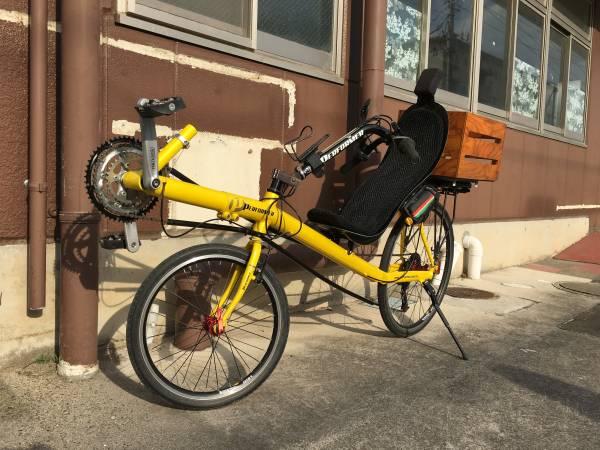 送料無料 リカンベントバイク PERFORMER OSS 木箱付き 自転車_画像2